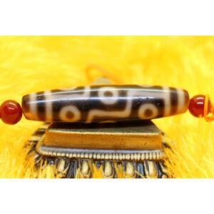 Dzi bead 9 mắt ivory A 94