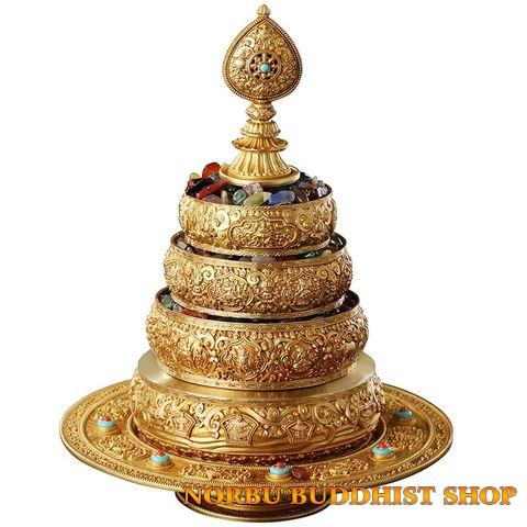 Pháp khí Mật tông Tây Tạng giúp thực hành và hoằng dương Phật pháp 14