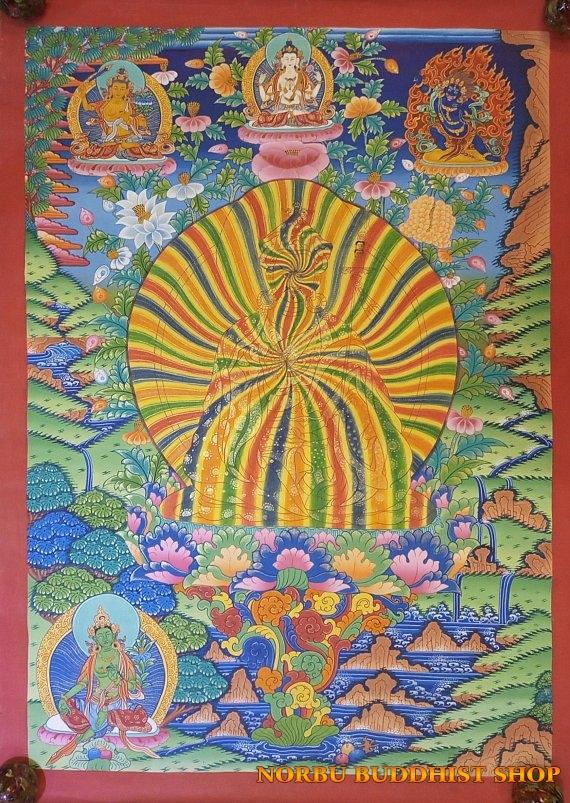 Tìm hiểu nét độc đáo tranh Thangka tâm linh Phật giáo Tây Tạng 10