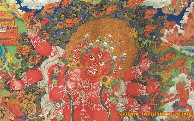 Tìm hiểu nét độc đáo tranh Thangka tâm linh Phật giáo Tây Tạng 4