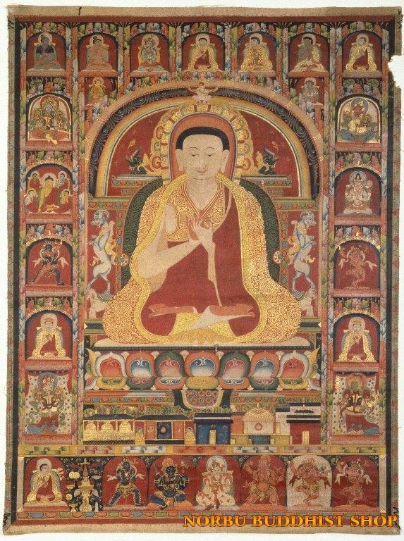 Tìm hiểu nét độc đáo tranh Thangka tâm linh Phật giáo Tây Tạng 5