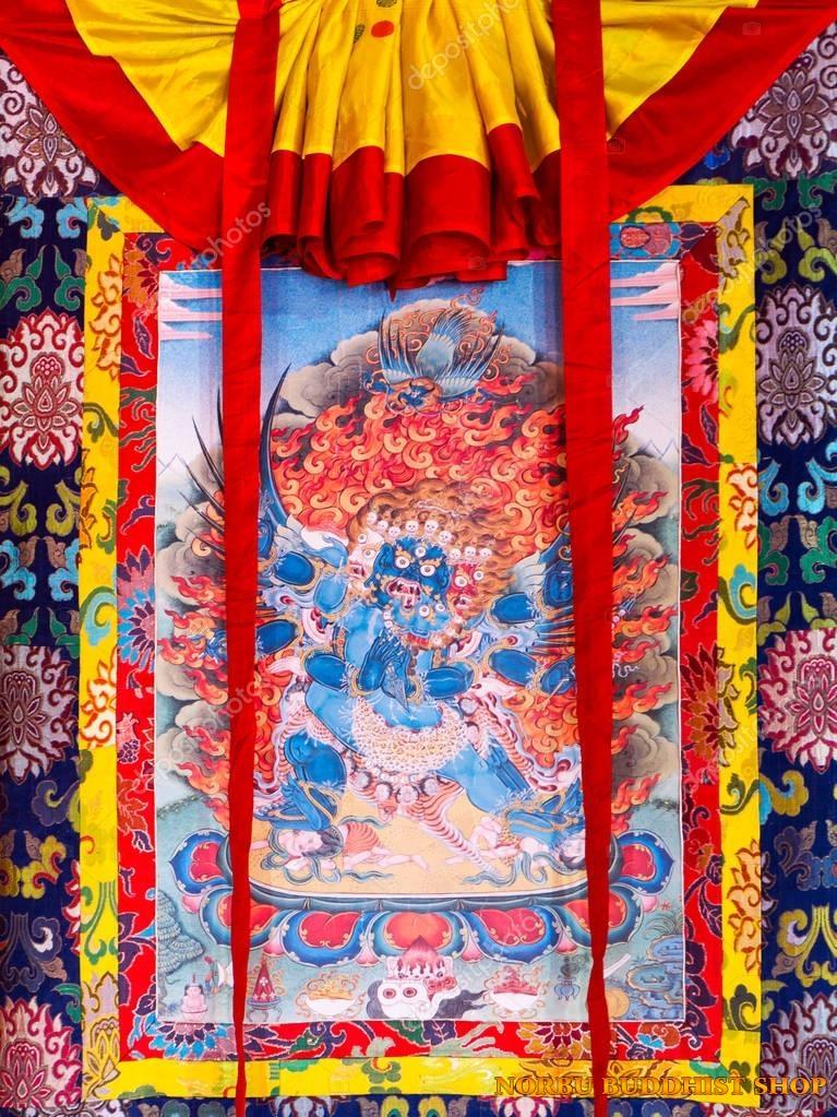 Tìm hiểu nét độc đáo tranh Thangka tâm linh Phật giáo Tây Tạng 6