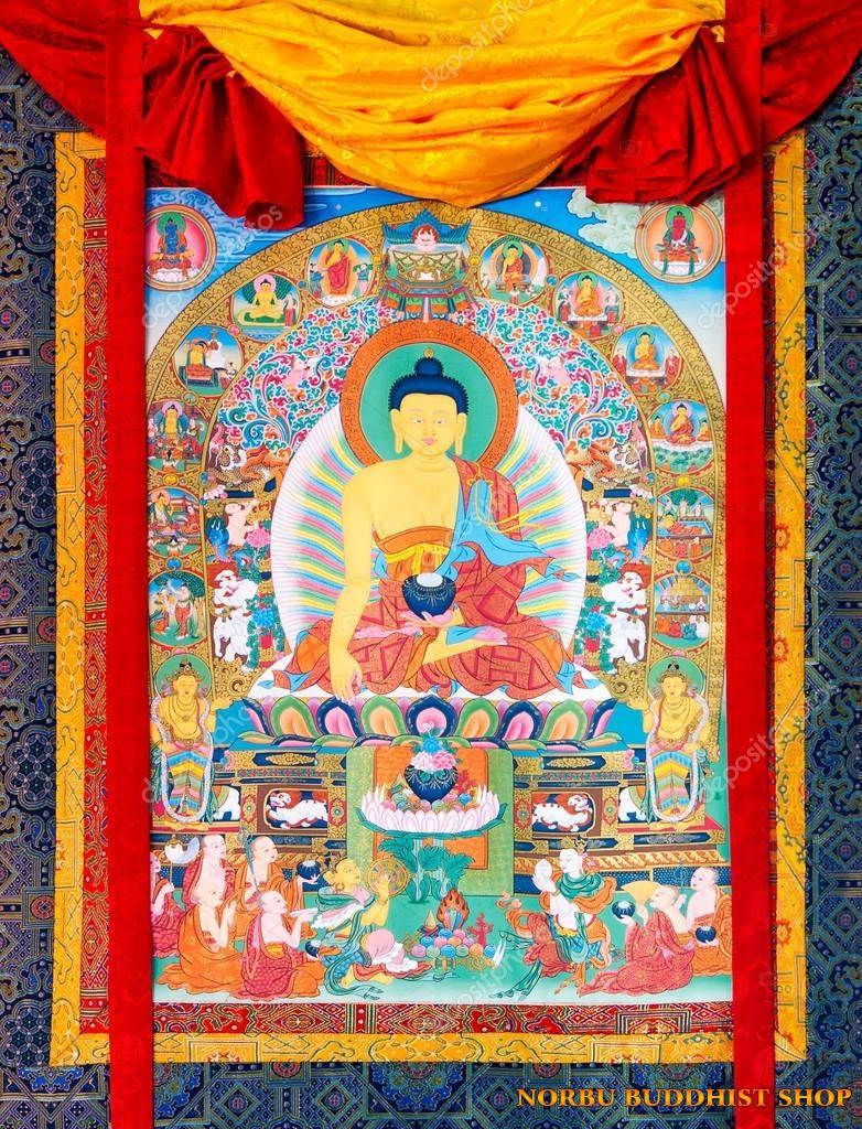 Tìm hiểu nét độc đáo tranh Thangka tâm linh Phật giáo Tây Tạng 7