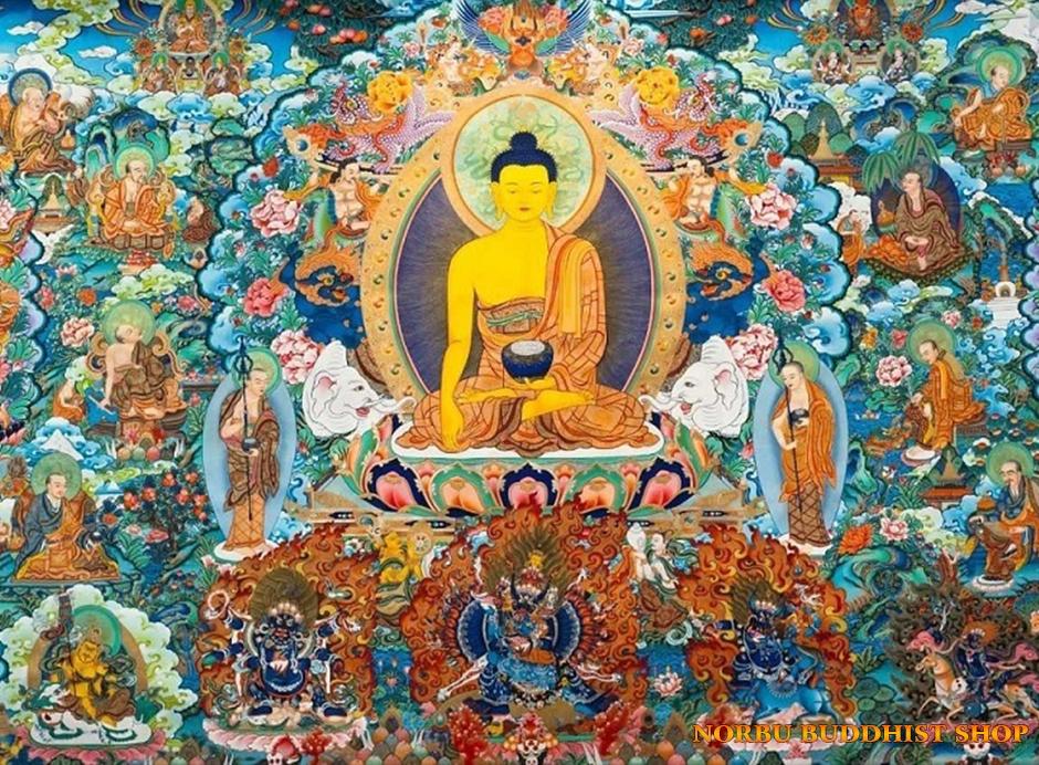 Tìm hiểu nét độc đáo tranh Thangka tâm linh Phật giáo Tây Tạng
