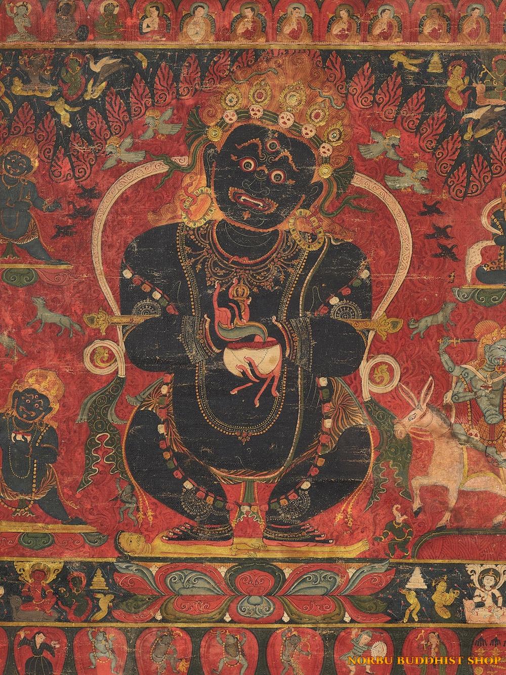 Ý nghĩa tôn giáo trong tranh Thangka Tây Tạng - Tangka Tibet có gì đặc sắc? 10