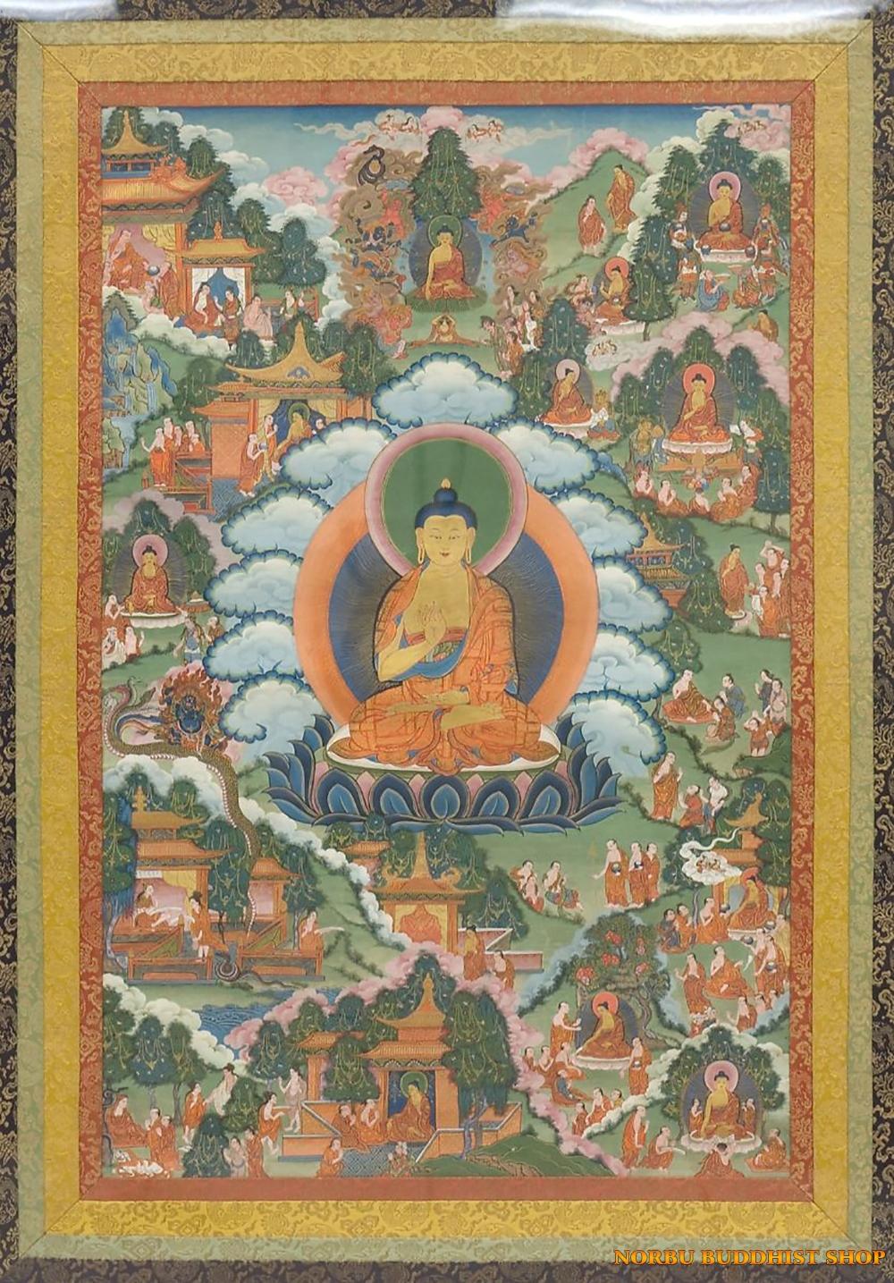 Ý nghĩa tôn giáo trong tranh Thangka Tây Tạng - Tangka Tibet có gì đặc sắc? 2