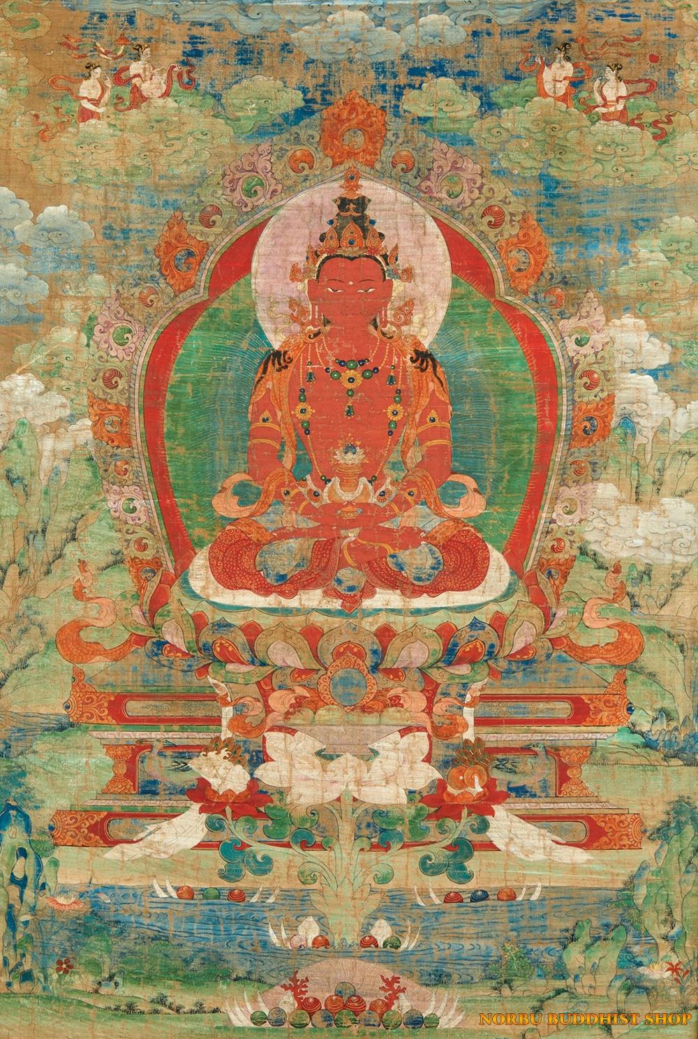 Ý nghĩa tôn giáo trong tranh Thangka Tây Tạng - Tangka Tibet có gì đặc sắc? 4