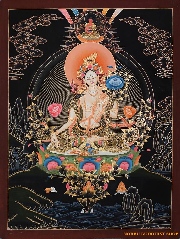 Ý nghĩa tôn giáo trong tranh Thangka Tây Tạng - Tangka Tibet có gì đặc sắc? 5
