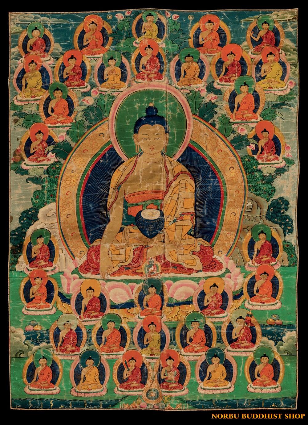 Ý nghĩa tôn giáo trong tranh Thangka Tây Tạng - Tangka Tibet có gì đặc sắc? 6