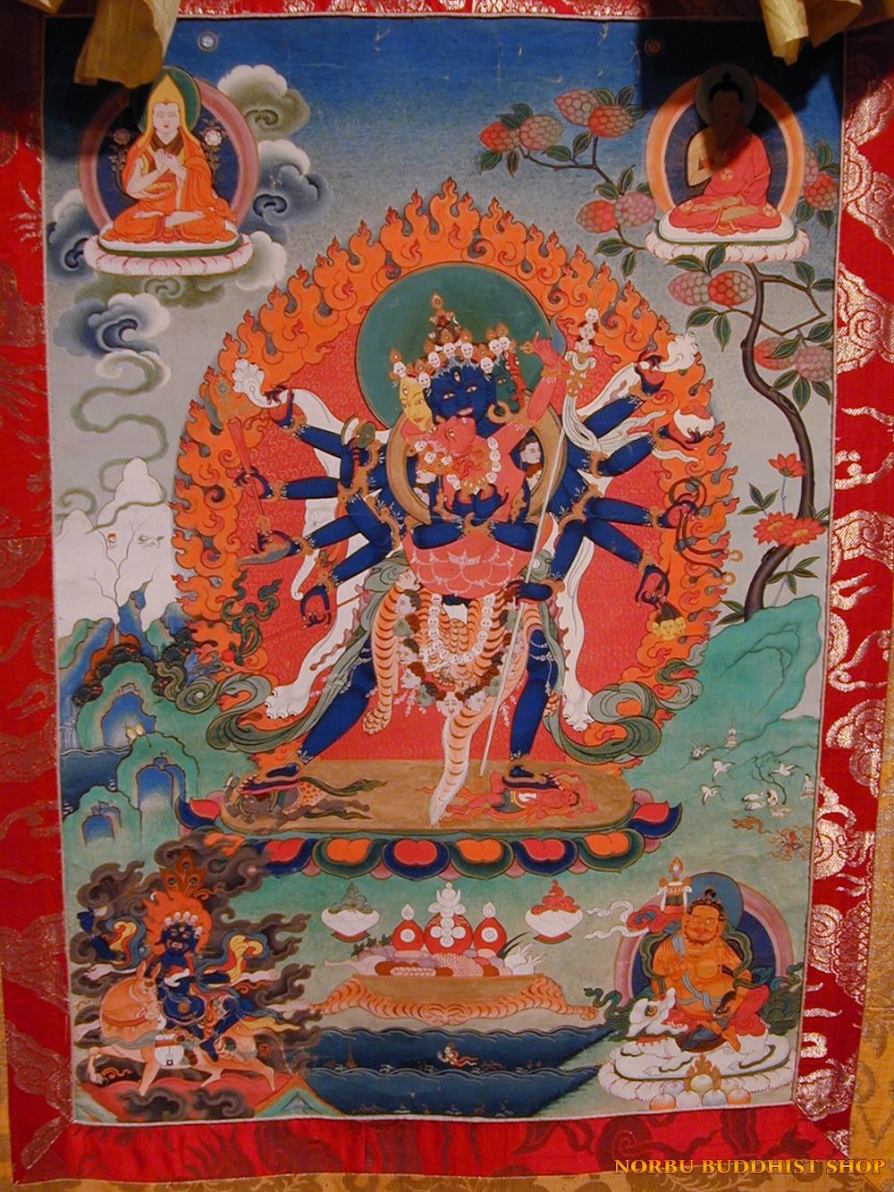 Ý nghĩa tôn giáo trong tranh Thangka Tây Tạng - Tangka Tibet có gì đặc sắc? 7