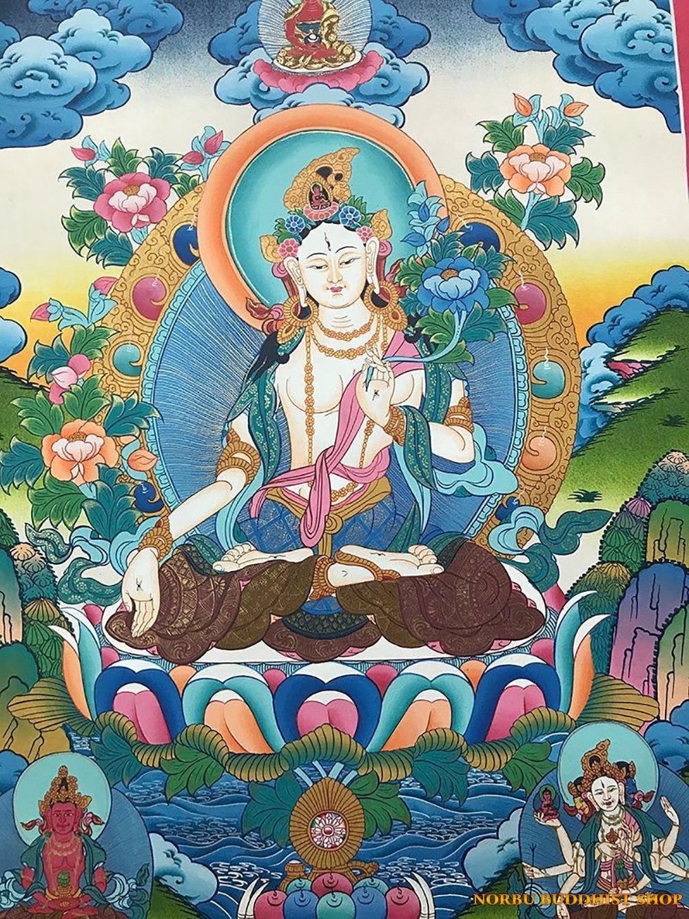 Ý nghĩa tôn giáo trong tranh Thangka Tây Tạng - Tangka Tibet có gì đặc sắc? 8