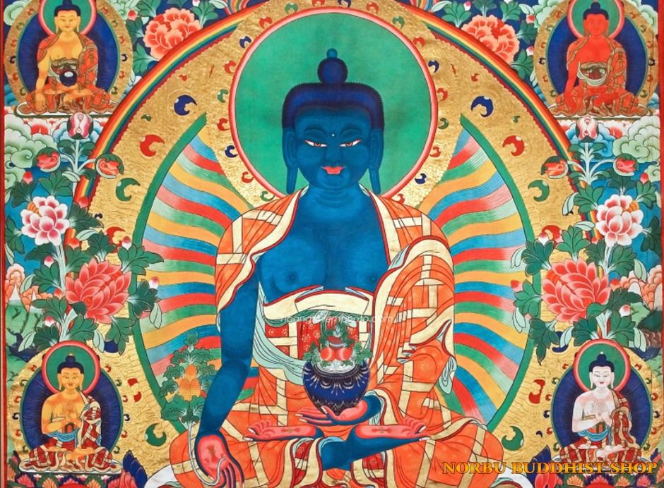 Ý nghĩa tôn giáo trong tranh Thangka Tây Tạng - Tangka Tibet có gì đặc sắc?