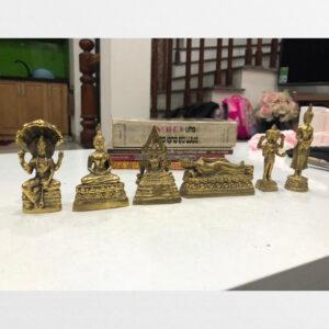 Bộ 6 tượng đồng nhỏ Phật giáo Nam tông sưu tầm