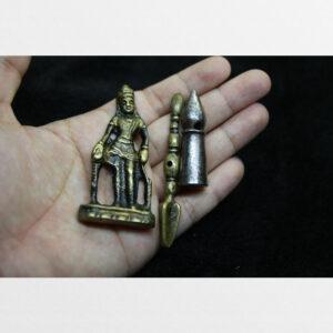 Thokcha hình Phật con dấu và phurba từ Tibet hàng antique