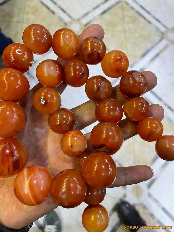 Thú sưu tầm bead hạt mã não của người Tây Tạng điều gì kiến mã não cổ trở lên đăt đỏ 6