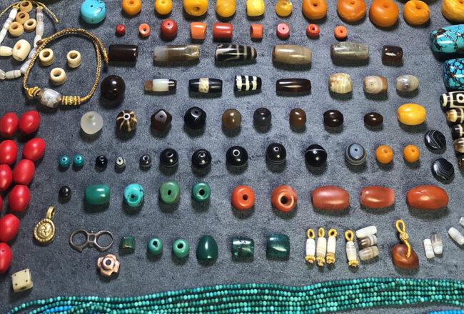 Thú sưu tầm bead hạt mã não của người Tây Tạng điều gì kiến mã não cổ trở lên đăt đỏ