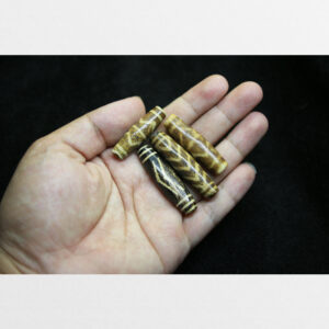 Hạt pumtek dài cổ 4 viên sưu tầm