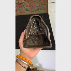 Khuôn đúc tsa ngài Guru Rinpoche bằng đồng cỡ lớn từ Tibet