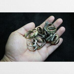 Nhẫn đồng hình chày kim cương tổng hợp mẫu từ Tibet
