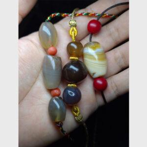 Old bead agate - mã não cổ Tibet 2000 năm tuổi từ Lhasa