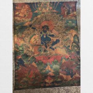 Thangka trên vải lụa cũ từ Tibet 3 bức