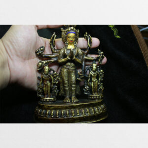 Tôn tượng ngài Quán Âm Thập Nhất Diện cùng hai vị Tara antique sưu tầm