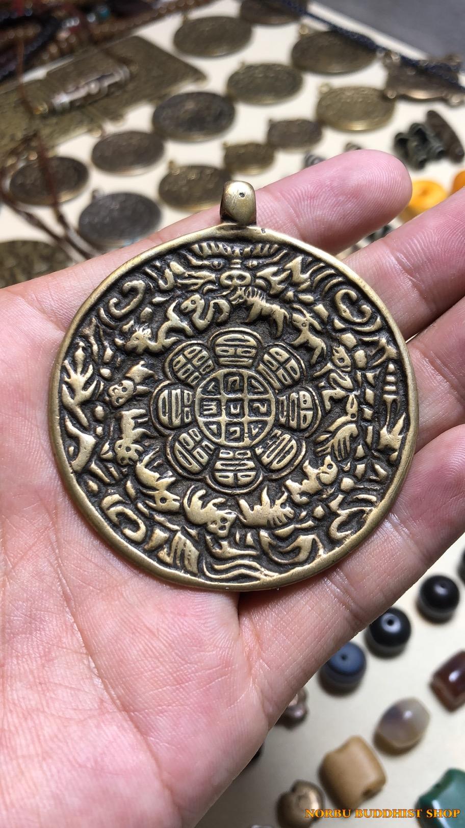 Văn Thù Cửu Cung Bát Quái – Bùa hộ thân phòng Tam tai Tây Tạng 8