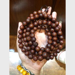 Chuỗi bồ đề Phật nhãn già 12mm chất đẹp từ Tibet