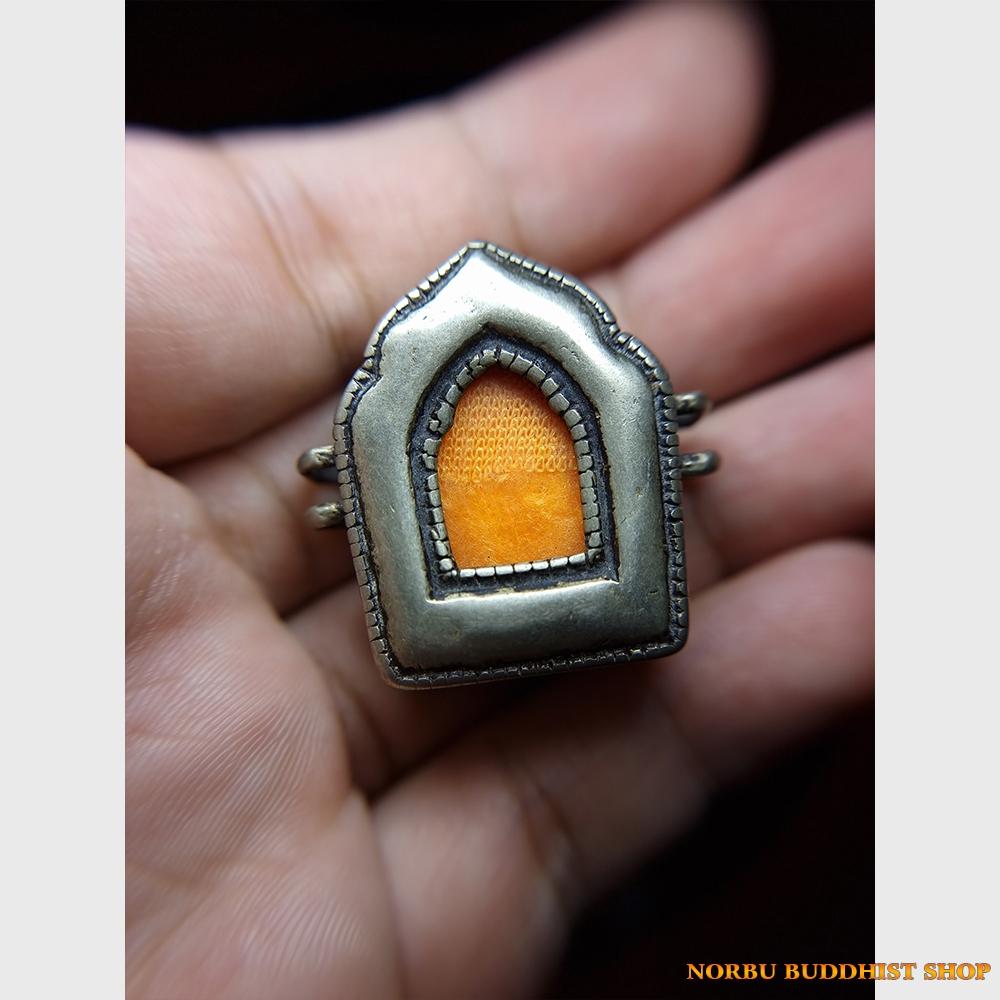 Hộp gau mini chất đồng đẹp lâu năm từ Tibet