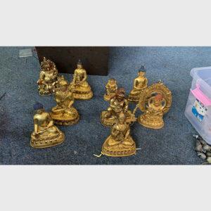 Khách đã thỉnh: bộ 9 tượng cổ mật tông Tây Tạng