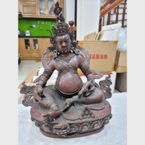 Tôn tượng ngài Hoàng Thần Tài Zambala cỡ lớn từ Tibet