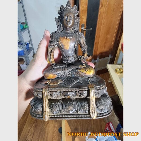 Tôn tượng ngài Kim Cương Tát Đỏa Vajrasattva giả cổ xưa