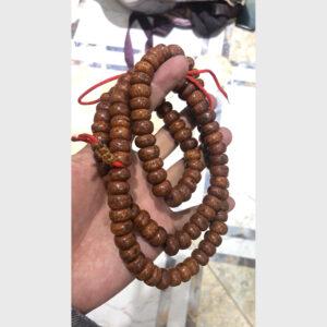 Chuỗi bồ đề Phật nhãn 108 cổ hạt dẹt