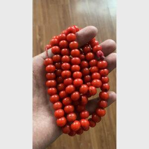 Chuỗi lưu li đỏ cổ tương tự san hô chất đẹp