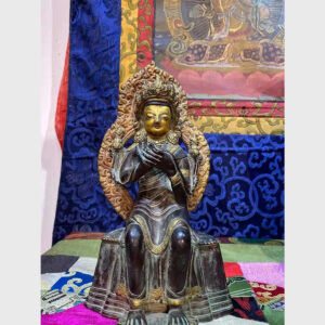 Khách đã thỉnh: tượng cổ ngài Di Lặc Kim Cang Thừa