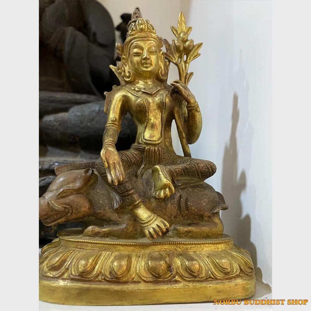 Order Tibet: Tượng Phật cổ Ngài Marichi Ma Lợi Chi Thiên từ Tibet
